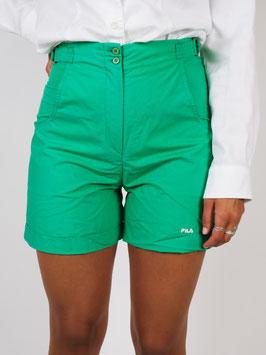 fila shorts green