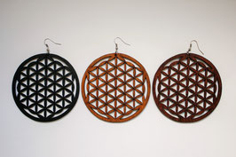 Wooden Bohemian Earrings