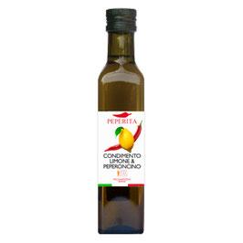 Olivenöl Zitrone und Chili