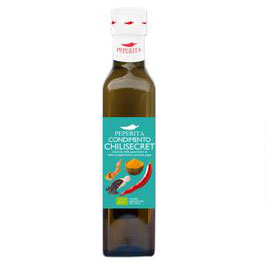 Olivenöl Chilisecret mit Kurkuma