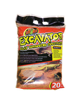Excavator Clay Burrowing Substrate 4,5 kg
