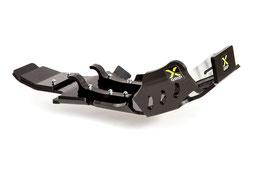 X-TREME Motor- & Umlenk-Abdeckung (schwarz)