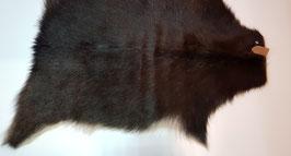Donkerbruine geitenhuid 73 x 61 cm