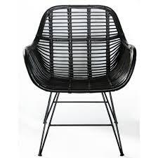 """Rotan stoel """"Negro"""""""