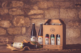 Box 6 bottiglie miste Birra Non filtrata, non pastorizzata, naturalmente rifermentata in bottiglia