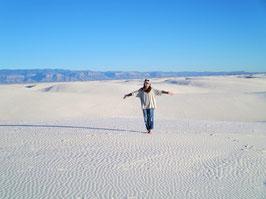 幻想の「ホワイトサンズ」を訪ねる一日ツアー