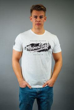 T-Shirt Herren Splash weiß