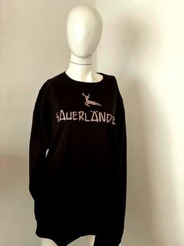 Sweater Schwarz Sauerländer Multicolor Glitzer