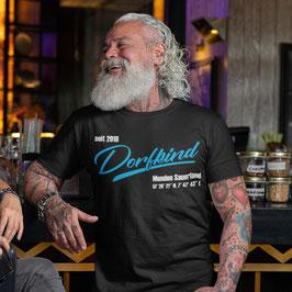 Dorfkind T-Shirt Herren schwarz