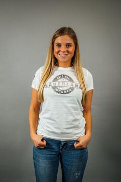 T-Shirt Damen Sauerland weiß