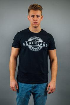 T-Shirt Herren Sauerland schwarz