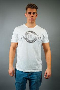T-Shirt Herren Sauerland weiß