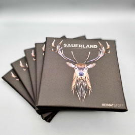 Kunstdruck Sauerland Hirsch 10