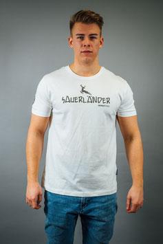 T-Shirt Herren Sauerländer weiß