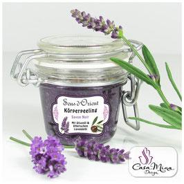 Körperpeeling - Savon Noir Lavendel