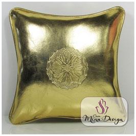 Kissen gold - Size L - 35x35 cm