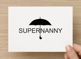 Supernanny Betreuung - gemäss Terminvereinbarung Zone 1 - 3
