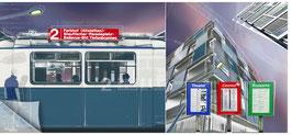 ZRH Zürich Stadtansicht Tram 2 01