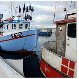 StadtSicht Kopenhagen, Fischerboote 002