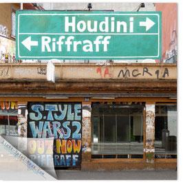 StadtSicht Zürich 091b, Houdini Riffraff 001