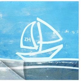 StadtSicht Zürich 114d, Segelboot 005