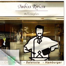 StadtSicht Zürich 104c, Imbiss Riviera 001