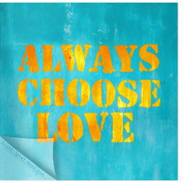 StadtSicht Zürich 130d, Always Choose Love 001