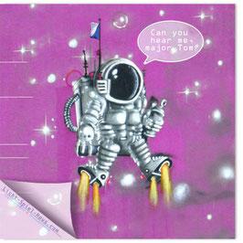 StadtSicht Zürich 069d, Astronaut 001