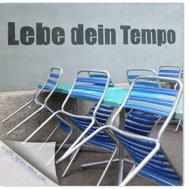 StadtSicht Zürich 039a, Lebe Dein Tempo 001
