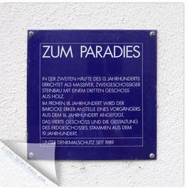 StadtSicht Zürich 125c, Zum Paradies 001