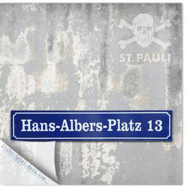 StadtSicht Hamburg 002b, Hans Albers Platz 001