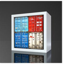 Quadratleuchte, HH Container 600