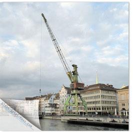 StadtSicht Zürich 078b, Hafenkran 004