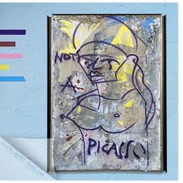 StadtSicht Zürich 148b, Picasso 001 (blau)