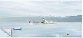 """ZRH Zürisee 009d, Seeschiff """"Stadt Zürich"""" auf dem Zürichsee"""