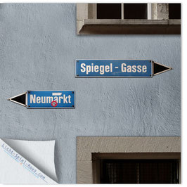 StadtSicht Zürich 017c, Neumarkt Spiegelgasse 001