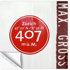 StadtSicht Zürich 072d, Zürich 407 001
