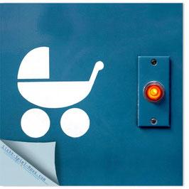 StadtSicht Zürich 003d, Tram Kinderwagen 001