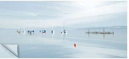 ZRH Segelboote Ufenau 008, Segelboote auf dem Zürichsee
