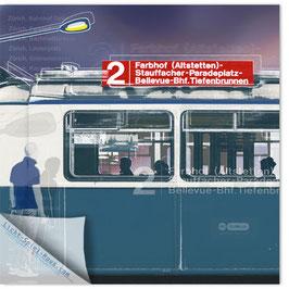 StadtSicht Zürich 015b, Tram 2 100
