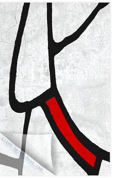 Schwarz Rot 001