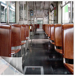 StadtSicht Zürich 083c, Tram Innenansicht 001