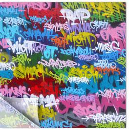 StadtSicht Zürich 075a, Schrift bunt 001