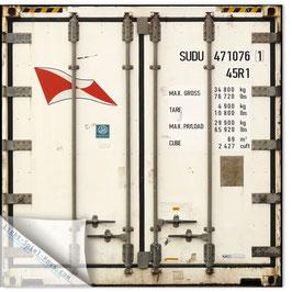 StadtSicht Hamburg 018a,  Container Rückansicht HH Süd weiss 005