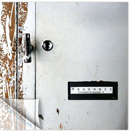 StadtSicht Zürich 050a, Hauswart Glasmalergasse 001