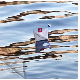 StadtSicht Zürich 126c, Papierschiff 001