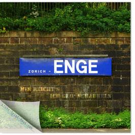 StadtSicht Zürich 108d, Zürich Enge 002 (Mir reicht's, ich geh' schaukeln)