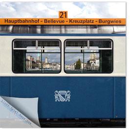 StadtSicht Zürich 083a, Tram 21 Museumstram 001
