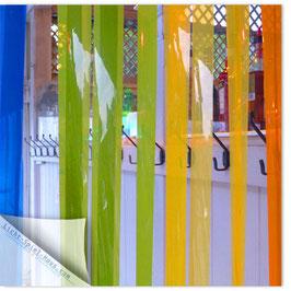 StadtSicht Zürich 035b, Frauenbad bunter Vorhang 003