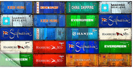 Hamburgensie 078, Container bunt